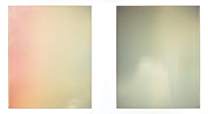 Image: Sky On Polaroid # 20
