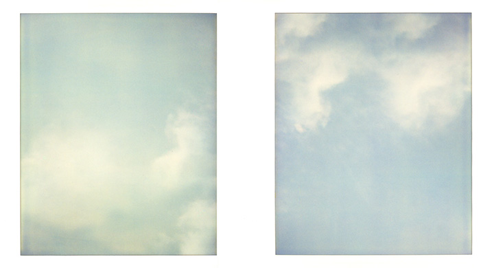 Image: Sky On Polaroid # 03