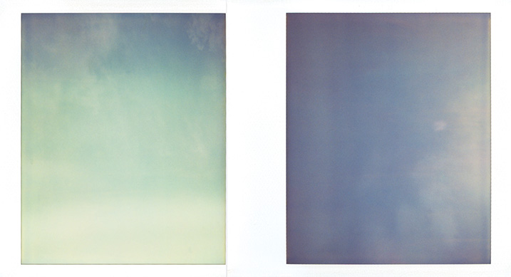 Image: Sky On Polaroid # 07